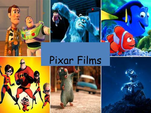 Pixar Films Quiz