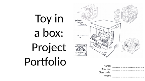 KS3 Toy in a box project: Material properties, CAD skills and workshop practical