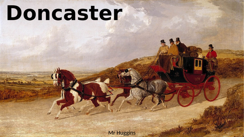 The Mail Coach to Doncaster, 1829