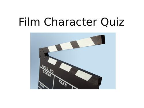Film Characters Quiz