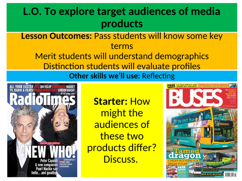 Media Key Theory Series: Target Audience