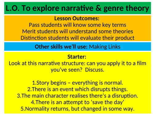 Media Key Theory Series: Narrative Theory