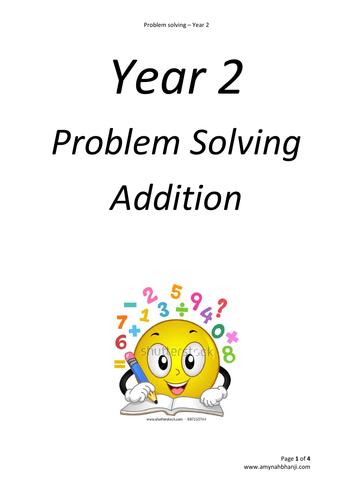 Year 2 - Maths Problem Solving Bundle