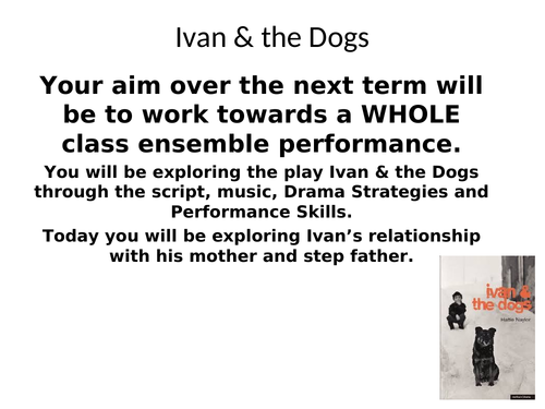Ivan and the Dogs