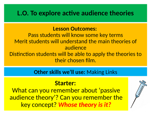 Media Key Theory Series: Active Audience