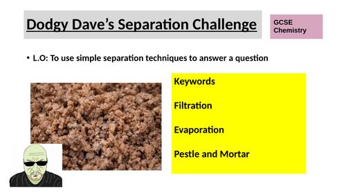 Rock Salt separation for KS3 or KS4