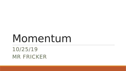 Momentum - AQA Physics GCSE 9-1