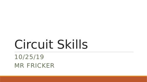 Circuit Skills