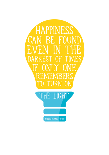 Harry Potter Quote poster A5