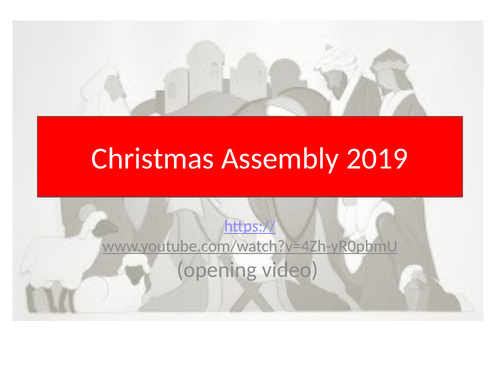 ASSEMBLY CHRISTMAS
