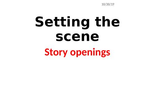 Story openings