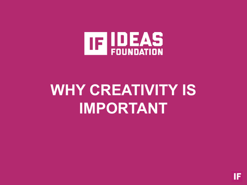 Why Creativity is Important