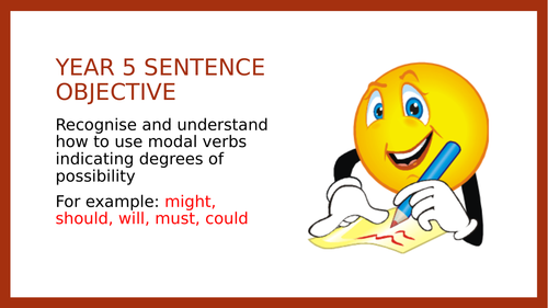 Year 5 SPAG PPT: Modals