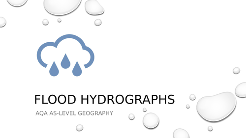 Flood Hydrographs/Storm Hydrographs PowerPoint and Worksheet