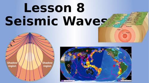 AQA Physics Seismic Waves Lesson