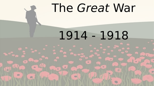 WW1 Timeline for Remembrance Day