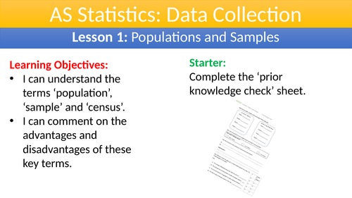 Data Collection: AS Statistics