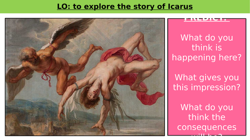 31 SLIDES Icarus and Daedalus