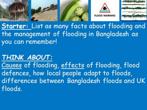 Geography in the News 5Ws of the 1998 Bangladesh Flood
