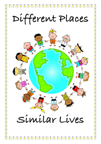 'Different Places, Similar Lives, IPC Topic Title Page