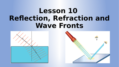 AQA Physics Wave Fronts Lesson