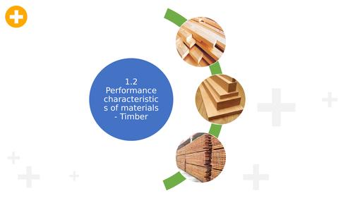 1.2.1 Performance characteristics of materials - Timber KS5 Design and Technology AQA