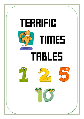 Year 1 - Terrific Times Tables