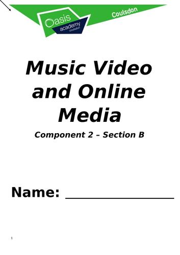 Eduqas GCSE Music Videos and Online Media Booklet