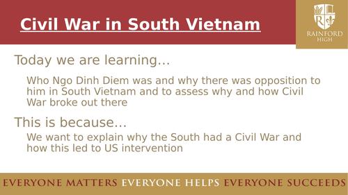 AQA GCSE Vietnam, Civil War in Vietnam