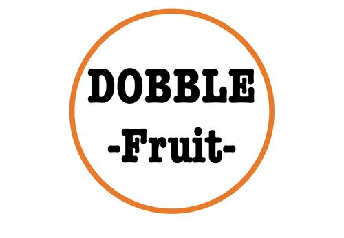 Dobble Game - Fruit