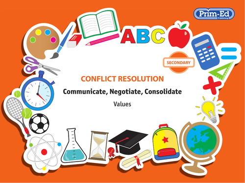 CONFLICT RESOLUTION - VALUES: SECONDARY UNIT