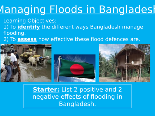 Managing Floods in Bangladesh
