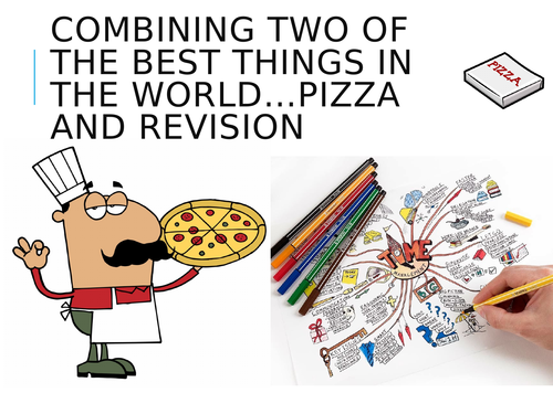 GCSE Sociology - Theories of the Family Revision Pizza