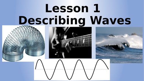 AQA Physics Waves Lesson Pack (18 Lessons)