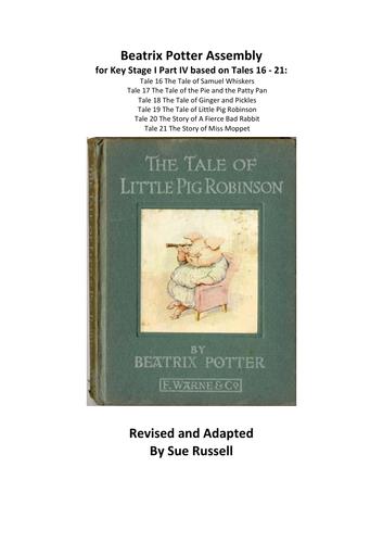 Beatrix Potter Play KSI (5 – 7 yrs) Part IV