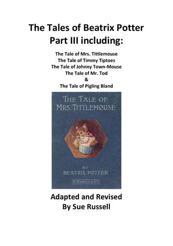 The Tales of Beatrix Potter Guided Reading Part III