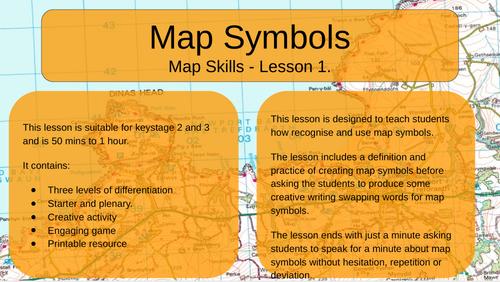 Map Skills - Map Symbols