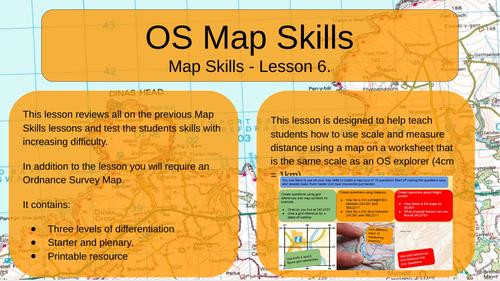 Map Skills - OS Map Skills