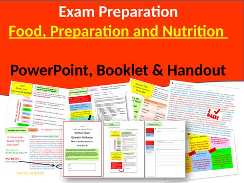GCSE Food Exam Guidance