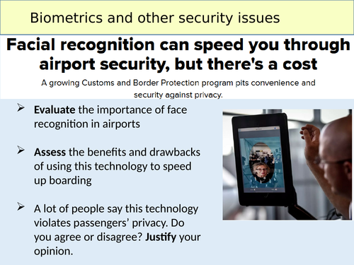 KS3 Biometrics and other security issues (5/5)
