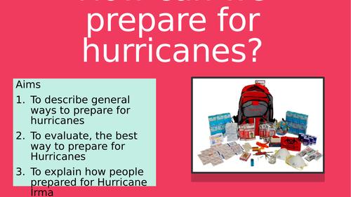 Hurricane Irma Preparation