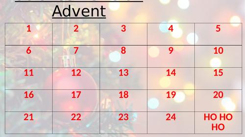 GCSE Science Advent Calendar