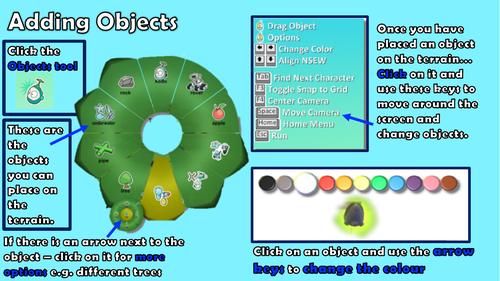 Kodu Games Lab - adding objects
