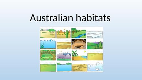 Australian habitats