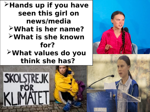 ASSEMBLY.CLIMATE CHANGE. GRETA THUNBERG