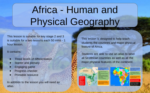 Africa - Human and Physical Geography