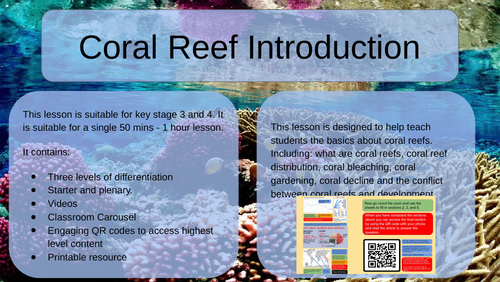 Coral Reef - Introduction