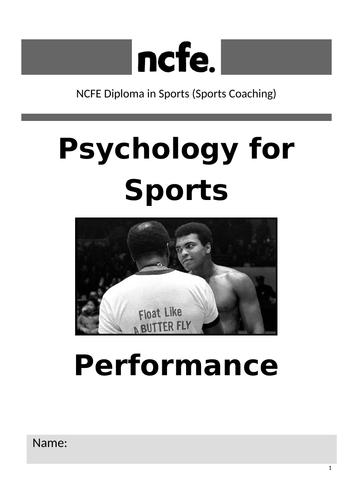 NCFE Level 2 Psychology