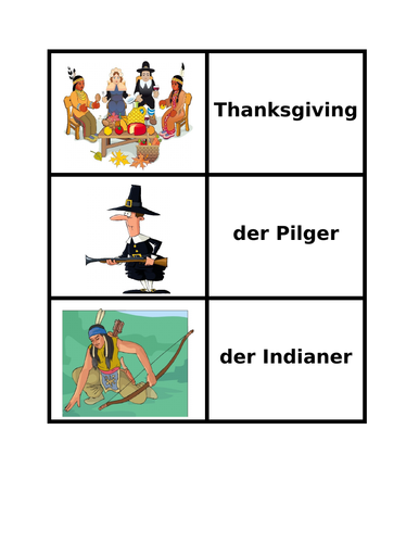 Thanksgiving in German Concentration Games