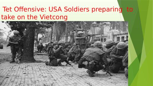 The Tet Offensive during the Vietnam War